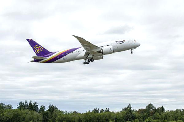 THAI dreamliner