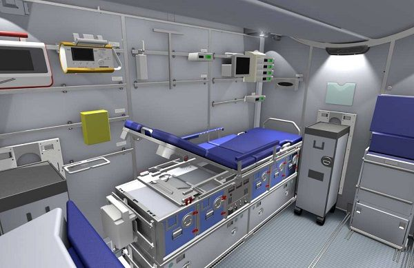 Patient Transport Compartment