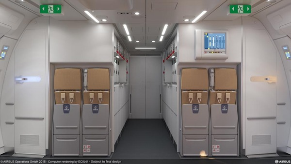 Jamco 'ICE Rear Galley' A350 XWB option_