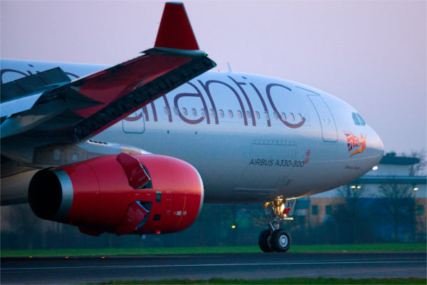 A330 Virgin Atlantic aircraft