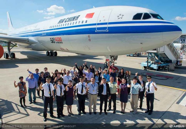 50TH A330 DELIVERY TO AIR CHINA_01_