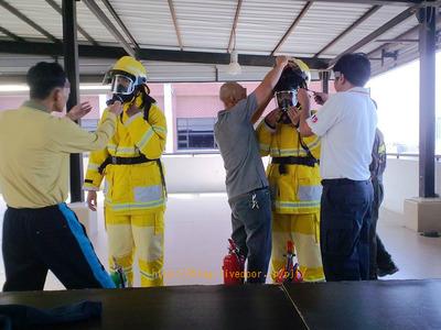 世界の消防士 タイ王国消防士訓練