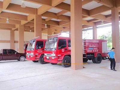 タイ王国消防車