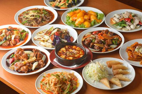 個人的には中華料理≧韓国料理>日本料理だと思う