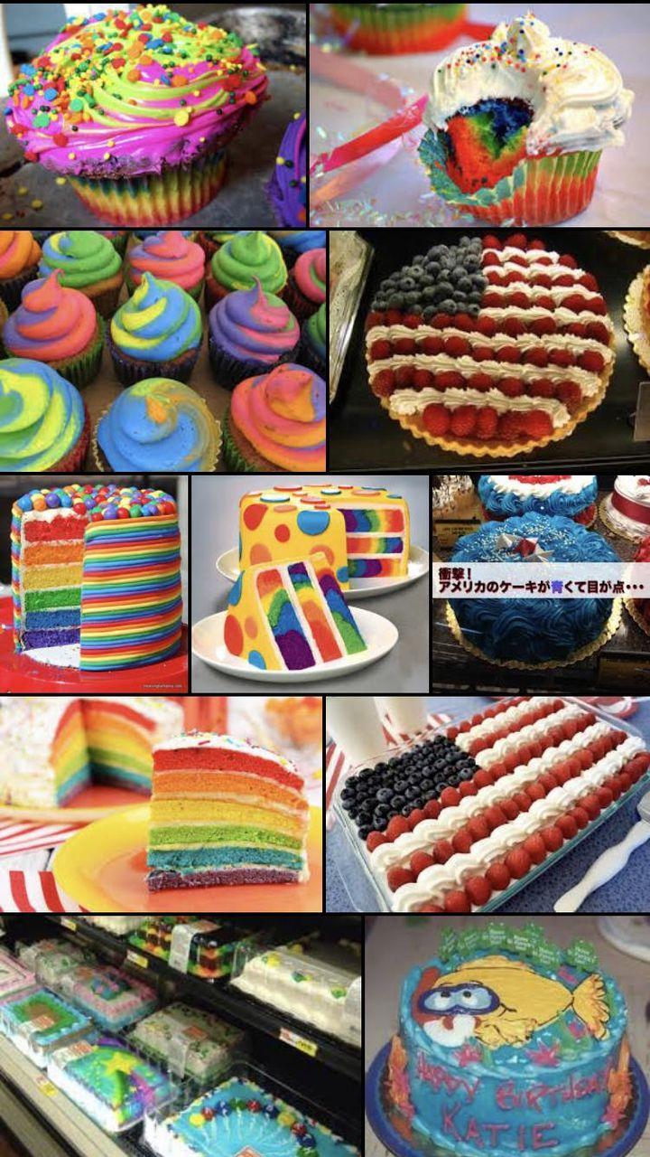 【画像】アメリカのケーキが美味そうすぎてワロスwwwww