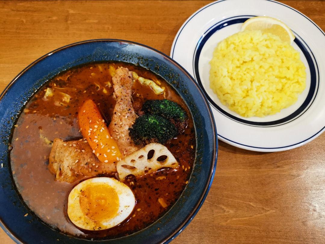 【西長堀】札幌スープカレーJACK(SAPPORO SOUP CURRY JACK)