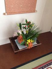 1-1正月の花