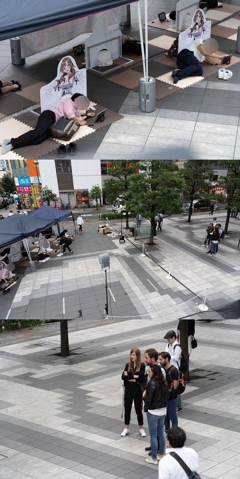【ポケモンGO】日本人のヲタクがヤバすぎて外国人さん引いてるwwwwww【秋葉原】