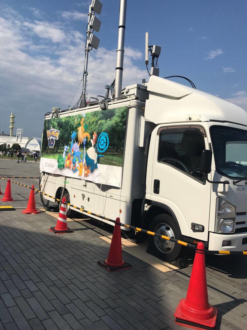 【横浜イベント】本日の様子w※画像有り。今日はdocomo車も出てるぞwさて、俺もそろそろ横浜行くかなwww