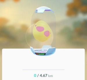 【ポケモンGO】無課金ユーザーにとって7km卵はハードル高い…ついにここで課金か…?