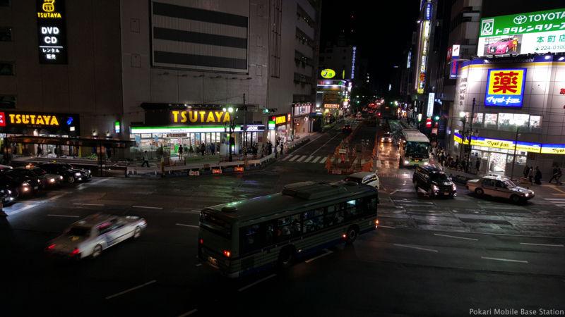 仙台駅でdocomo PREMIUM 4G下り166Mbpsを確認! +α