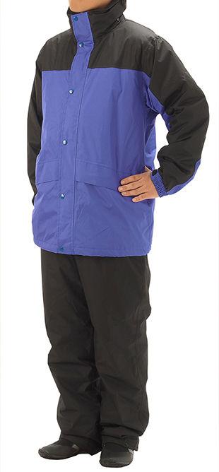 【ヒラノ産業】06139防水防寒レインスーツ着用まえS