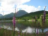 初秋の志高湖