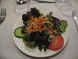 インターラーケンのサラダ