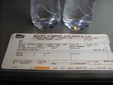 TGVの乗車券