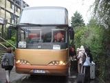 ドイツのツアーバス