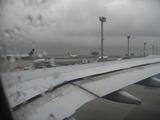 帰国の搭乗便