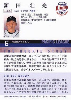 源田(入団前)「3割30盗塁、HR3本のプチトリプルスリーを狙います」観客「ドッ(爆笑)」