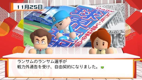 三大パワプロペナントの自由契約で有能な選手 内海 和田