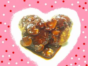 デミグラス豆腐ハンバーグ★