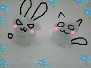 FUTURE&ARTHURの雪だるまっ★
