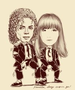 マイケルとF
