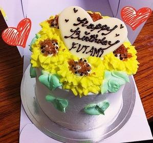 ひまわりケーキ★