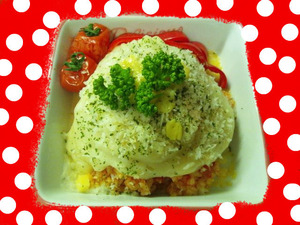 トマトのチーズドリア★