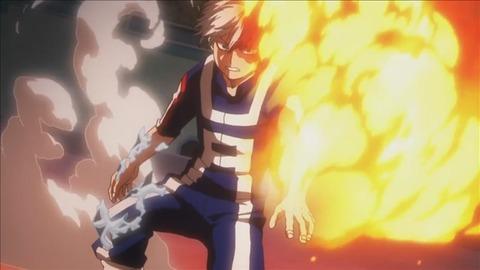 【僕のヒーローアカデミア】23話みんなの感想まとめ 轟が戦闘で炎を使う!主人公だよ完全に!