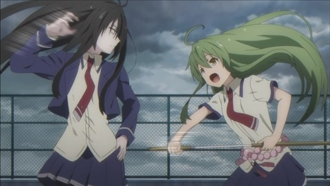 【武装少女マキャヴェリズム】9話みんなの感想まとめ きるきるが動き出す!納村は因幡と戦闘開始