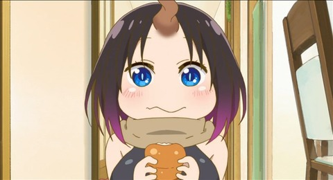 【小林さんちのメイドラゴン】8話みんなの感想まとめ まじめポンコツ食いしん坊のエルマまじちょろゴン