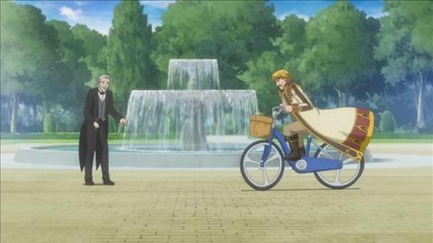 【異世界はスマートフォンとともに。】8話みんなの感想まとめ 自転車乗ってるだけで面白い謎