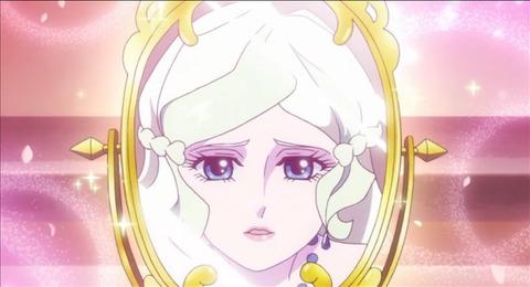鏡を見て自分に惚れるダイアナ