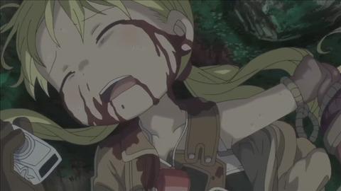 【メイドインアビス】10話みんなの感想まとめ 呪いと毒でリコが・・・!