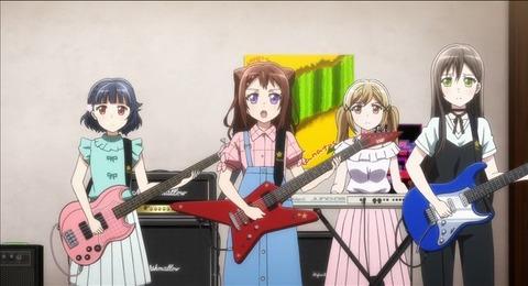 【BanG Dream!(バンドリ!)】5話みんなの感想まとめ 初ライブは蔵で!ちゃんと弾けてるじゃん