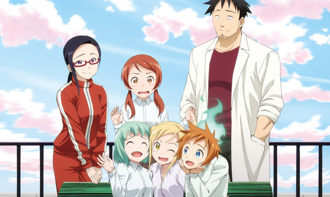 今日放送(1月7日) 「亜人ちゃんは語りたい」ってどんなアニメ?亜人に興味があるおっさん教師と亜人の女子高生の学園コメディ!初回1時間で気合入ってる!