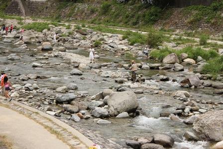 川遊び12