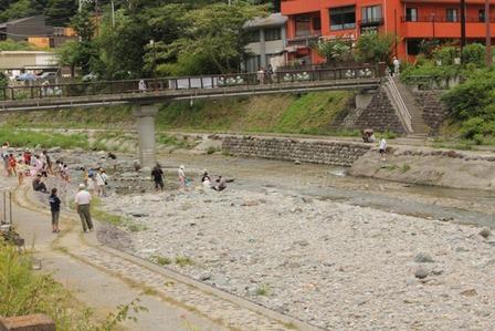 川遊び10