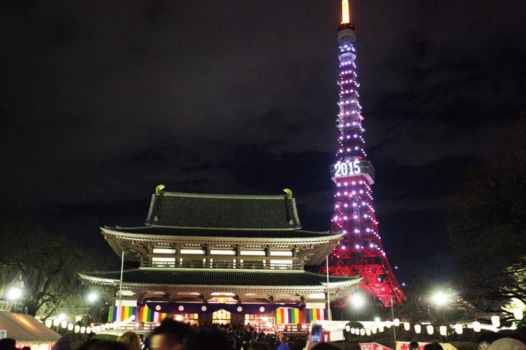 【跨年】看膩了101的煙火嗎?到東京體驗不一樣的跨年晚會!