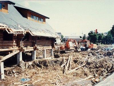 大水害(建築前の予定地)