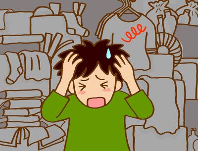 【悲報】ワイ買い物依存症、部屋を物だらけにしてしまい父親にガチ説教される