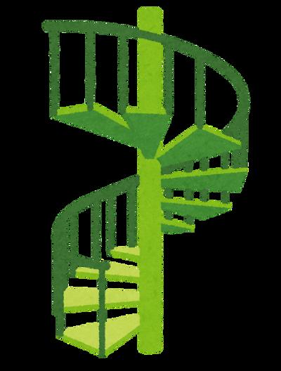 【画像】箱根に美しすぎる螺旋階段が存在する模様