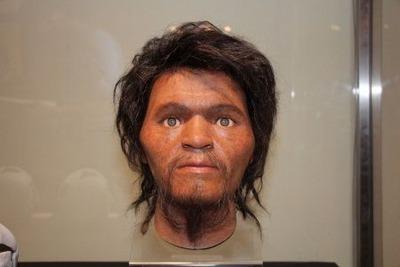 一体どんな顔? 2万7千年前の旧石器人を再現