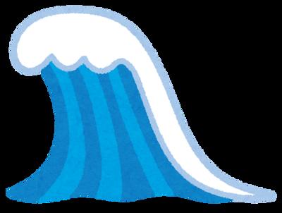 【動画】サーファーが35mの大波に乗る光景が凄すぎるwwww