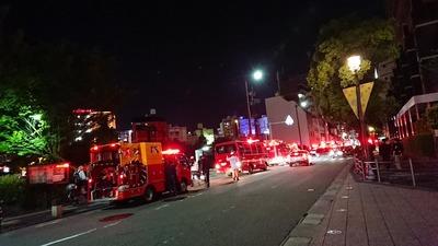 【速報】キャナルシティ博多付近で大規模な事件か事故が・・・詳しいことはまだ判っていません
