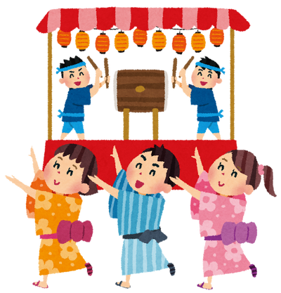 【動画】中野駅前で行われた盆踊り大会でボンジョビで踊っててワロタwwww