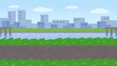 【画像】川のど真ん中に建つ家が凄すぎるwwww