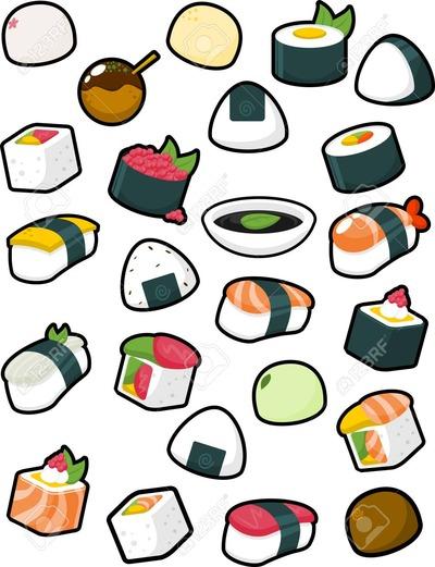 90149737-様々-な和食のイラスト集