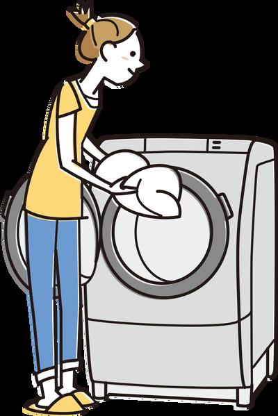 9:00ワイ「洗濯機回さなきゃ…」10:00ワイ「洗濯機回さなきゃ…」11:00ワイ「洗濯機回さなきゃ…」