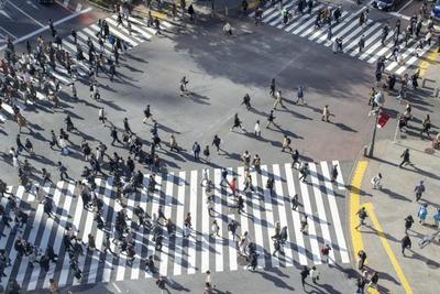 【画像】渋谷のスクランブル交差点を完全再現してしまった件wwww